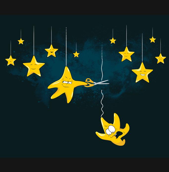 Смешные картинки про звезды